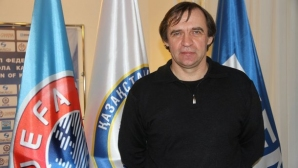 Казахстан се раздели със селекционера Бородюк