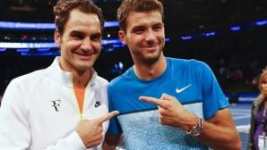 Федерер похвали издръжливостта на Димитров