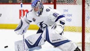 Тампа Бей се върна на върха в НХЛ