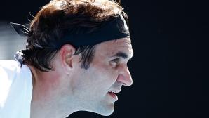 Вижте каква точка спечели Федерер (видео)