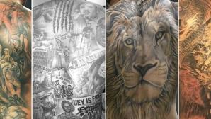 По татуировките на гърба ще ги познаете