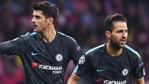 Челси без Мората и Фабрегас за реванша с Арсенал