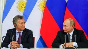 Президентът на Аржентина иска финал на Световното