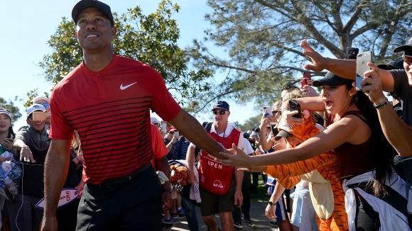 Тайгър Уудс се завърна на световната голф сцена