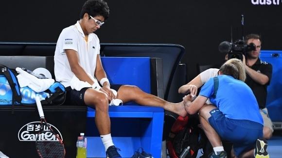 Чонг Хьон: Кракът ме боли много, съжалявам, че не мога да играя отново в София