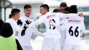 """""""Бялата"""" армия на Заги с нова победа, Гошо Петков насмалко да ошамари казахстанци"""