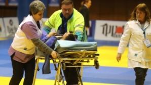 Кошмарно начало за Янислав Герчев в София, линейка откара джудиста в болница