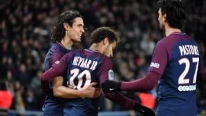 Сблъсък ПСЖ - Олимпик Марсилия в 1/4-финалите за Купата на Франция