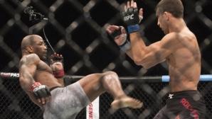 Люк Рокхолд счупил крака на Ромеро още в първи рунд