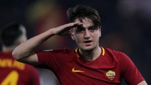Рома разби последния и изпревари Лацио (видео)