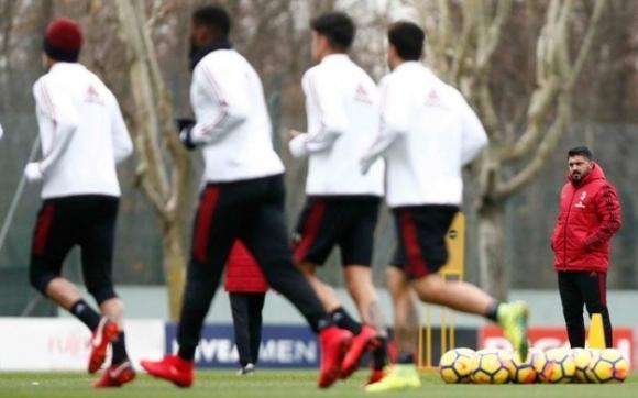 Милан без официална тренировка в Разград