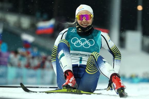 Стина Нилсон спечели олимпийската титла в спринта (видео + снимки)