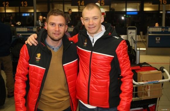 Веселин Цинзов и Йордан Чучуганов са доволни от представянето си в спринта