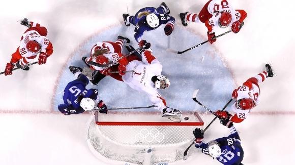 Американките прегазиха Русия на хокей