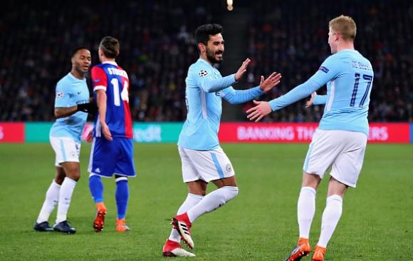 Ман Сити се подиграва със съперниците и в Шампионската лига (видео + галерия)