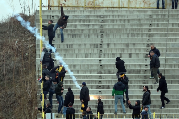 12 задържани преди Левски - Ботев (Пловдив)