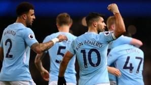 Ман Сити може да спечели титлата по кошмарен за Юнайтед начин