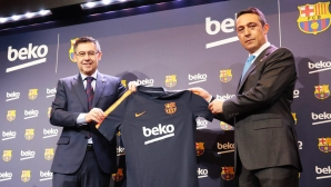 Барса подписа нов рекламен договор на стойност 57 млн. евро
