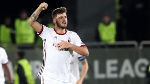 Голмайсторът на Милан: Лудогорец е труден противник, нищо не е решено