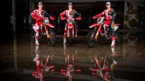Мотокрос тимът на Honda е готов за новия сезон