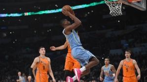 Победа за Отбора на света в Мача на изгряващите звезди в NBA (видео)