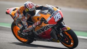 Honda доминира изцяло на MotoGP теста в Тайланд
