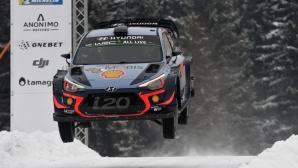 Нювил е новият лидер във WRC след безапелационна победа на рали Швеция