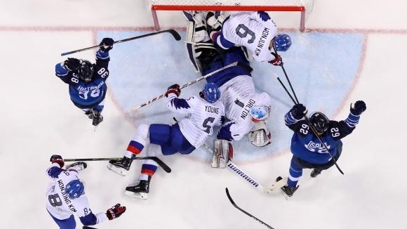 Финландия се разправи с домакините и се класира на четвъртфиналите