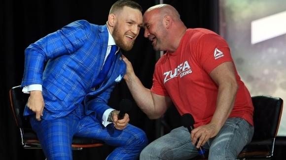 Макгрегър в преговори с UFC за завръщането си в Октагона