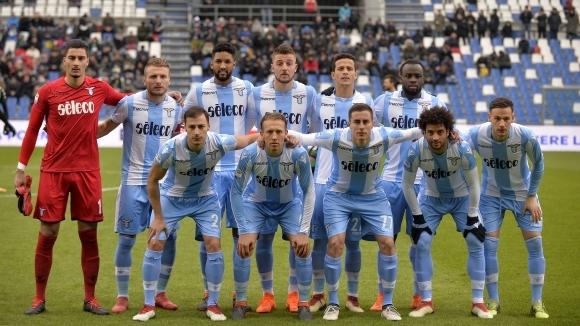 Полетът на Лацио към Шампионската лига продължава