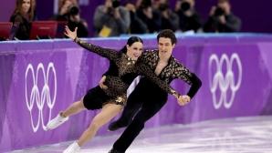 Канадци поведоха след краткия танц при танцовите двойки