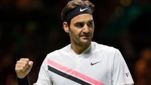 Федерер ще е №1 минимум месец