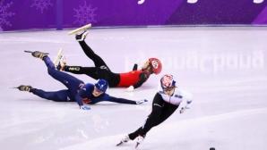 Елис Кристи поднови тренировки след падането