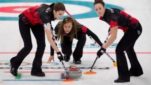 Фаворитът Канада сензационно отпадна от турнира по кърлинг