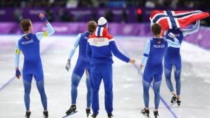 Норвегия остана на върха в класирането по медали