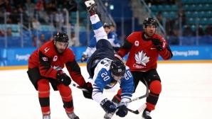 Канада изхвърли Финландия и е на полуфинал