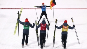 Германия записва най-успешните си Зимни олимпийски игри