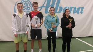 Пьотр Несторов и Дария Великова спечелиха в Албена