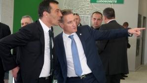 Кирил Домусчиев посочи какви са целите на Лудогорец след мачовете с Милан