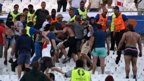 Арестуваха руски хулиган за побой над англичанин по време на Евро 2016