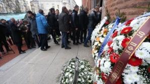 Футболна България се сбогува с Жоро Марков (видео+галерия)