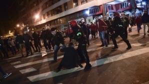 Девет души арестувани за ексцесиите в Билбао