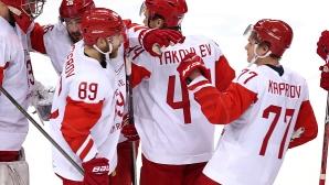 След 20 години Русия отново e на финал в хокея на лед