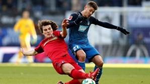 Фрайбург се пребори за точка срещу Хофе