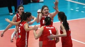 Волейболистките на ЦСКА без проблеми срещу Славия