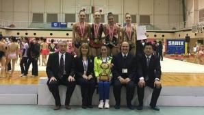 Левски стана отборен клубен шампион по художествена гимнастика в Япония