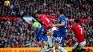 Моуриньо надигра Конте, Лукаку в основата на победата на Юнайтед (видео)