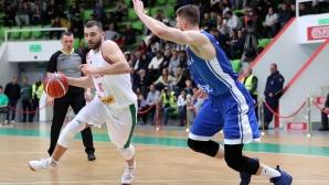 България изостава с десет точки от Финландия на почивката - 30:40. Гледайте НА ЖИВО тук