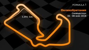 10 кръг: Гран При на Великобритания 06-08 юли 2018