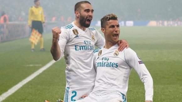 Реал Мадрид изнесе лекция в Париж и показа кой носи короната (видео+галерия)